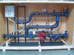 Тепловой пункт с функцией погодного регулирования ЦЭ-БТПА-ТПА-09